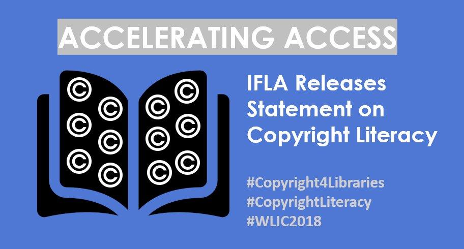 IFLA Copyright Round-up for 2018 – UK Copyright Literacy