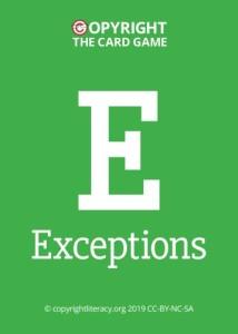 Round 4: Exceptions
