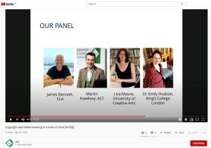 The ALT Summer Summit Panel